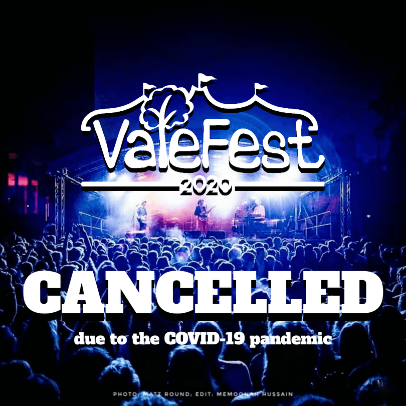 Valefest 2020 Cancelled graphic